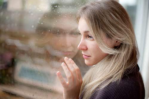 Depression Frau