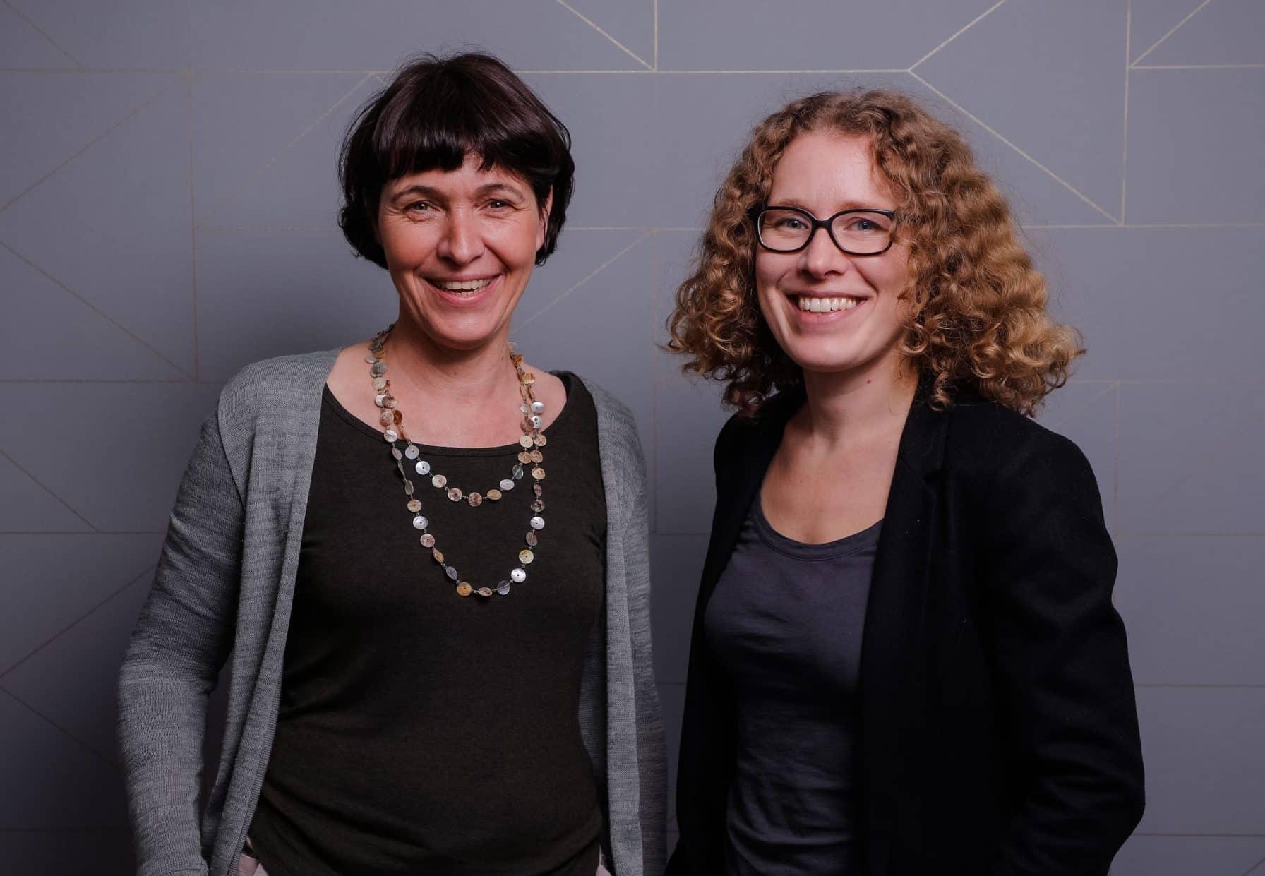 Anna Laudan und Margot Flaig